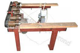 Găuritor rame cu 6 bulghiuri cu motor electric